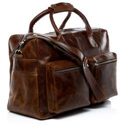 SID & VAIN Laptoptasche Natur-Leder braun-cognac Businesstasche Laptoptasche 2