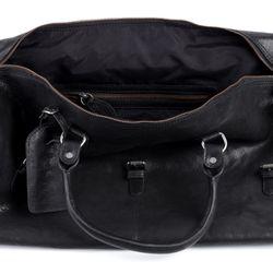 FEYNSINN XL Reisetasche PHOENIX Premium Smooth schwarz Sporttasche groß Reisetasche 5