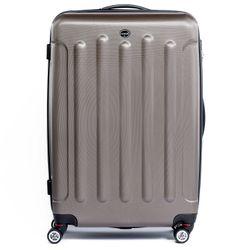 FERGÉ Kofferset 3-teilig LYON Trolley-Koffer Hartschale leicht 3 Größen ABS Dure-Flex Koffer-Set Leicht 3er Hartschalenkoffer Set (M L XL ) 4 Zwillingsrollen (360°) 5