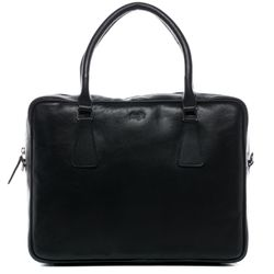 FERGÉ Laptoptasche ACE Premium Smooth schwarz Businesstasche Laptoptasche 7