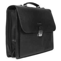 FEYNSINN Aktentasche EMILIO Bürotasche Laptoptasche XL Glattleder Aktentasche Messenger Businesstasche 3