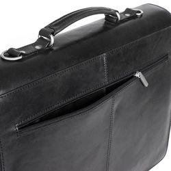 FEYNSINN Aktentasche EMILIO Bürotasche Laptoptasche XL Glattleder Aktentasche Messenger Businesstasche 5