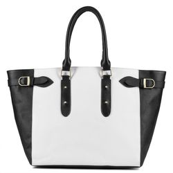 BACCINI shopper - 566 - VIOLA black PRADA