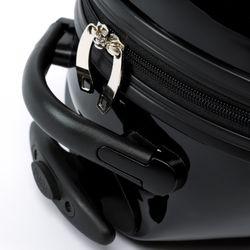 FERGÉ 1x Kinder-Trolley & 1x Rucksack Bee Kinder-Koffer carry-on ABS & PC Kindergepäck Leicht Handgepäck-Koffer Rollen (360°) 4
