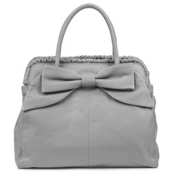 BACCINI tote bag MILANO -K-6280- top-handle bag Nappa leather - grey