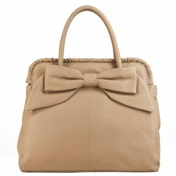 BACCINI tote bag MILANO -K-6280- top-handle bag Nappa leather - beige