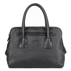 BACCINI tote bag FIRENZE -K-6291- top-handle bag Nappa leather - black
