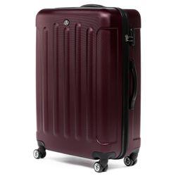 FERGÉ Kofferset 3-teilig Hartschale Burgundrot 3er Hartschalenkoffer Trolley-Set 4 Zwillings-Rollen 360° Kofferset 3-teilig Hartschale 4