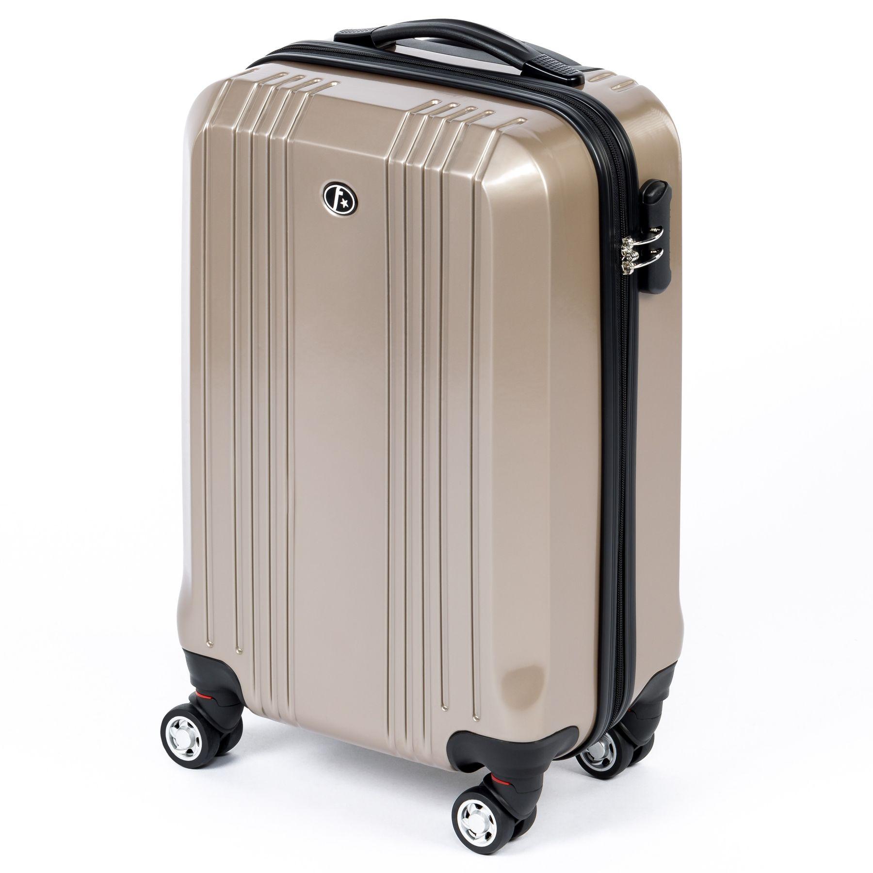 ferg 2er kofferset hartschale reise koffer trolley set 2. Black Bedroom Furniture Sets. Home Design Ideas