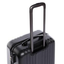 FERGÉ Kofferset 3-teilig TOULOUSE Trolley-Koffer Hartschale leicht 3 Größen ABS Dure-Flex Koffer-Set Leicht 3er Hartschalenkoffer Set (M L XL ) 4 Zwillingsrollen (360°) 8