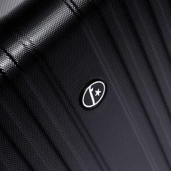 FERGÉ Kofferset 3-teilig TOULOUSE Trolley-Koffer Hartschale leicht 3 Größen ABS Dure-Flex Koffer-Set Leicht 3er Hartschalenkoffer Set (M L XL ) 4 Zwillingsrollen (360°) 9