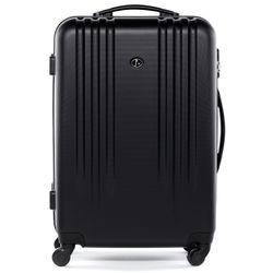 FERGÉ 3er Kofferset Marseille ABS Dure-Flex schwarz 3er Hartschalenkoffer Roll-Koffer 4 Rollen Kofferset Hartschale 3-teilig 3