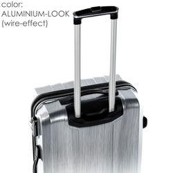 FERGÉ Kofferset 3-teilig Hartschale graphite-metallic 3er Hartschalenkoffer Trolley-Set 4 Rollen 360° Kofferset 3-teilig Hartschale 10