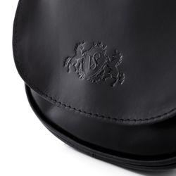 SID & VAIN Umhängetasche BRIGHTON Premium Smooth schwarz Crossbody bag Umhängetasche 2