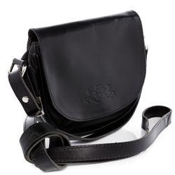 SID & VAIN Umhängetasche BRIGHTON Premium Smooth schwarz Crossbody bag Umhängetasche 3