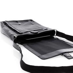 STOKED Umhängetasche NATHAN Premium Smooth schwarz Messenger Bag Umhängetasche 5