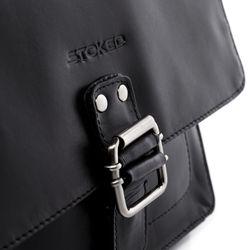 STOKED Umhängetasche NATHAN Premium Smooth schwarz Messenger Bag Umhängetasche 3