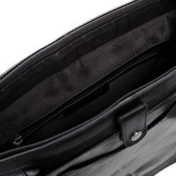 STOKED Umhängetasche NATHAN Premium Smooth schwarz Messenger Bag Umhängetasche 4