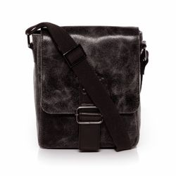 SID & VAIN messenger bag HARVEY -1223- shoulder bag SPLITT DISTRESS leather - brown