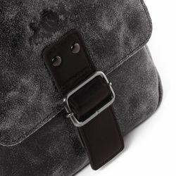 SID & VAIN Leer Messenger bag bruin Messenger bag HARVEY   3