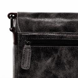 SID & VAIN Umhängetasche HARVEY Distressed Vintage braun Messenger Bag Umhängetasche 4