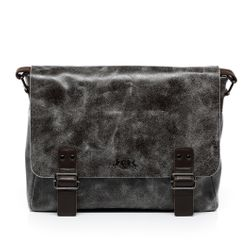 SID & VAIN Messenger bag HARVEY Umhängetasche L Distressed Leder Umhängetasche Messenger Laptoptasche