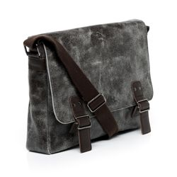 SID & VAIN Messenger bag Distressed Vintage braun Laptoptasche Messenger bag 2