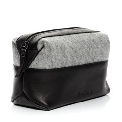wash bag OSLO Felt & Leather