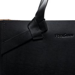 FEYNSINN Handtasche ELIN Sattelleder schwarz Ledertasche Handtasche 3