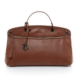top-handle tote bag NOEMI Aniline leather