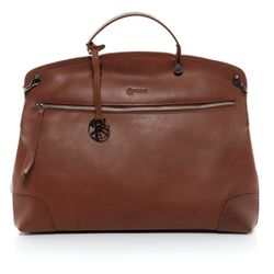 BACCINI tote bag & cross-body bag NOEMI -1208- handbag VT-ANALIN leather - tan-cognac