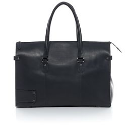 travel bag holdall  LUCA Smooth Leather