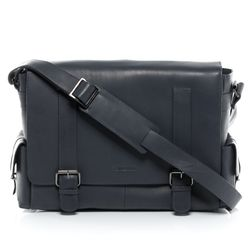 FEYNSINN sac messager ASHTON cartable sac à bandoulière sac d'école cuir gris