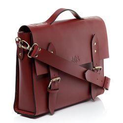 SID & VAIN Aktentasche BOSTON Bürotasche Laptoptasche L Sattelleder Aktentasche Messenger Businesstasche 2