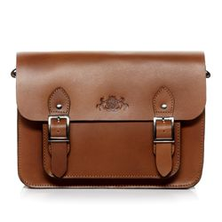 satchel TESSA Saddle Leather