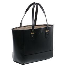 SID & VAIN Handtasche lange Henkel TRISH Sattelleder schwarz Henkeltasche Handtasche mit langen Henkeln 2