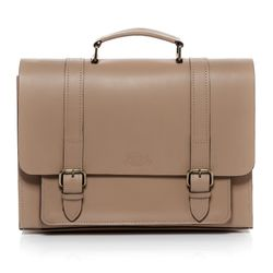 SID & VAIN briefcase BRISTOL -900.15- business bag SADDLE leather - camel-beige
