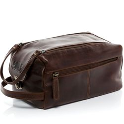 wash bag BRISTOL Natural Leather