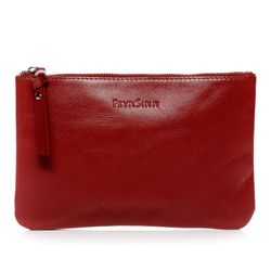 BACCINI Leer Make-up tas rood Make-up tas MEL