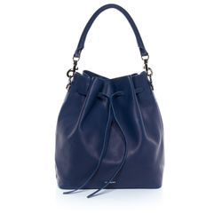 FEYNSINN hobo bag NIK -1233- shoulder bag SMOOTH leather - indigo