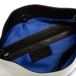 BACCINI Schultertasche Soft Nappa schwarz-blau Handtasche Schultertasche 2