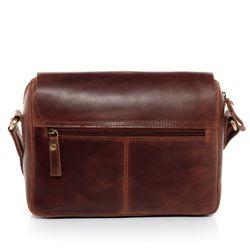 SID & VAIN Messenger bag YALE Natur-Leder braun-cognac Laptoptasche Messenger bag 3