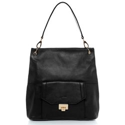 BACCINI shoulder bag LUISA -K-6739- handbag BM-Nappa leather - black