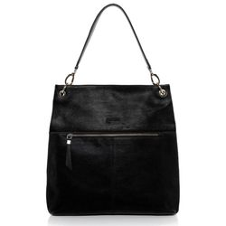 BACCINI shoulder bag CAPRI -K-7220- handbag BM-Nappa leather - black
