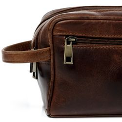 wash bag GATWICK Natural Leather 2