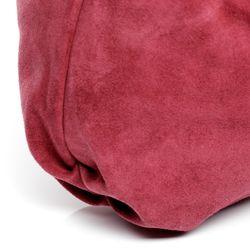 BACCINI Beuteltasche Wildleder pink Hobo Bag Beuteltasche 5
