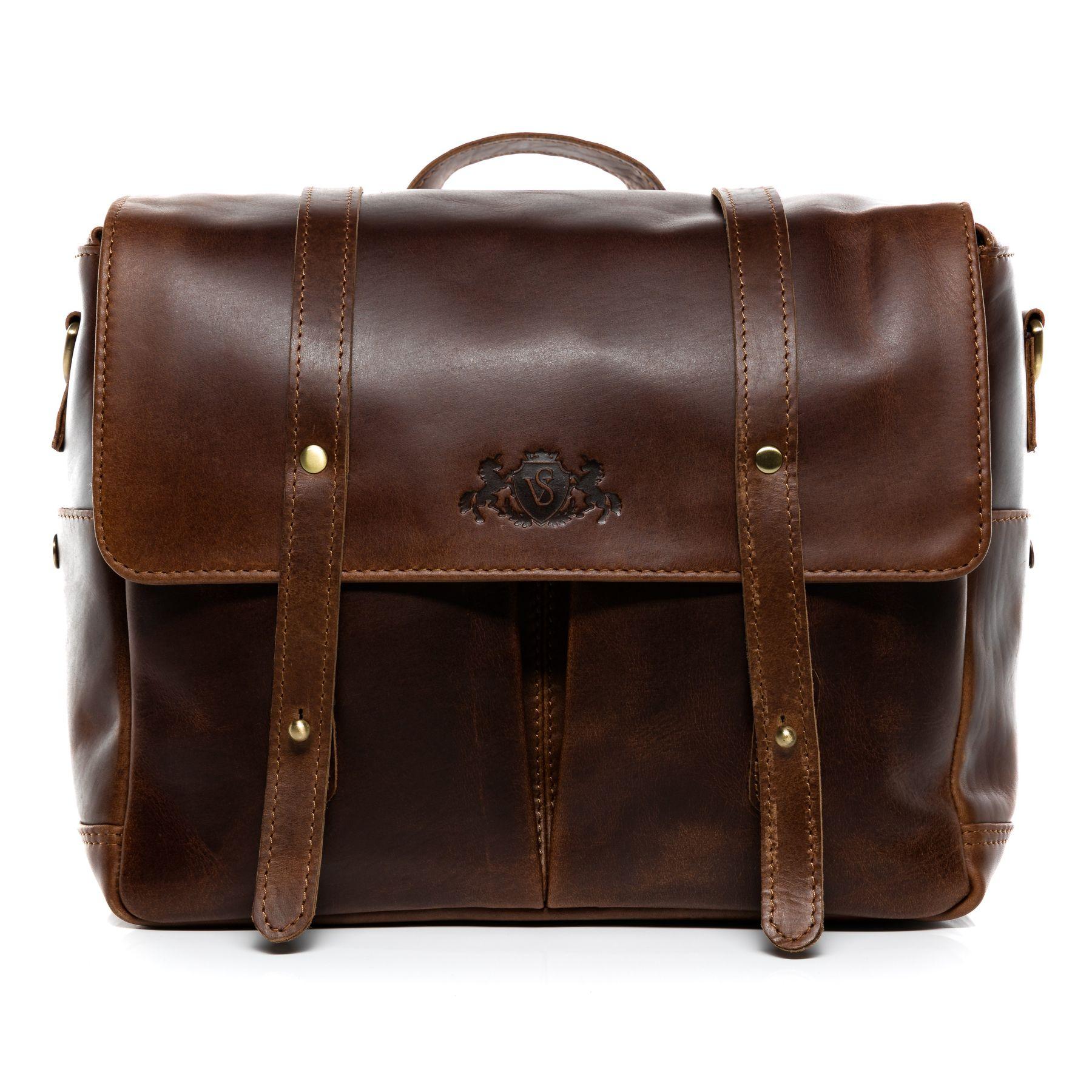 SID   VAIN camera bag DSLR - SLR Natural Leather HEATHROW brown-cognac camera  case with adjustable interior compartments messenger bag shoulder bag ... b957f7811629a