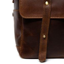 SID & VAIN sac appareil photo cuir marron sac camera intérieur modulable Housse caméra à bandoulière en cuir 3