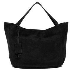 top-handle tote bag SELMA Suede Leather
