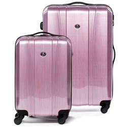 luggage set 2 pcs Hard-case (Carry-On & XL) Dijon Polycarbonate